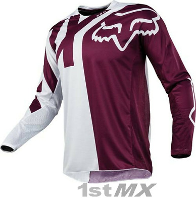 Fox Racing 360 Preme Purple White Offroad MX Motocross Race Jersey Adult Medium