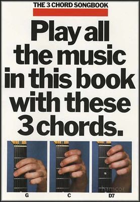 The 3 Chord Songbook Book 1 Guitar Music Song Book