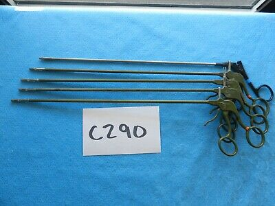 Stryker Surgical 5mm Lap Laparoscopic Instruments Lot Of 5