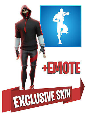 ⭐️ IKONIK SKIN S10 & SCENARIO EMOTE for FORTNITE - Activated within 12 hours ⭐