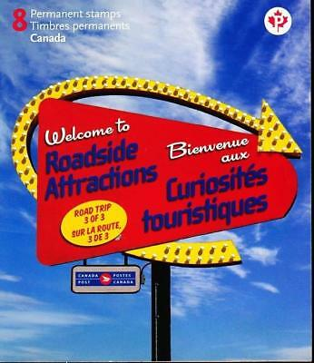 Canada 2011 Booklet #464 Roadside Attractions