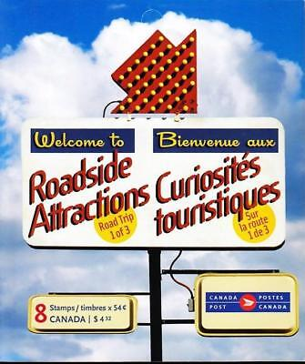 Canada 2009 Booklet #408 Roadside Attractions