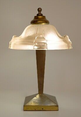 Delicate Original Art Deco Table Lamp Desk Lamp 1930