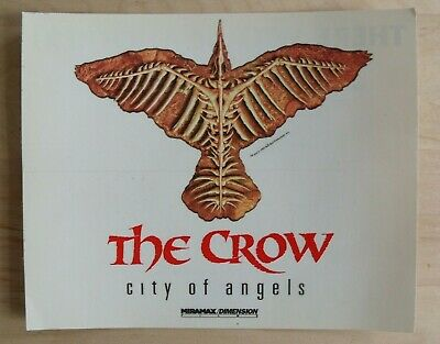 THE CROW City of Angels STICKER Iggy Pop  NEW 5.5 inch