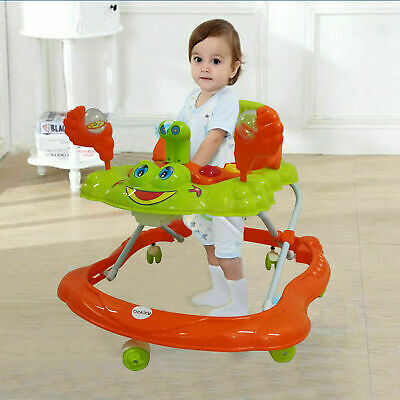 Baby Walker First Steps Activity Bouncer Musical Toys Car Push Along Ride On Go