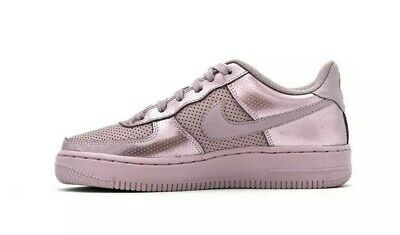 NEW Ladies Girls Nike Air Force 1 LV8 Low Top Liquid Pink Trainers UK Size 5
