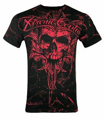 XTREME COUTURE by AFFLICTION Men T-Shirt VICTORY Tattoo Biker MMA UFC S-4X $40