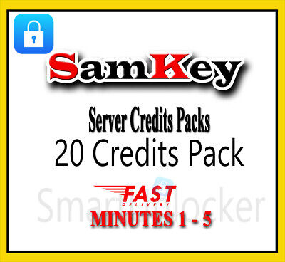 Instant SAMKEY SERVER 6 CREDITS UNLOCK ANY SAMSUNG New Account