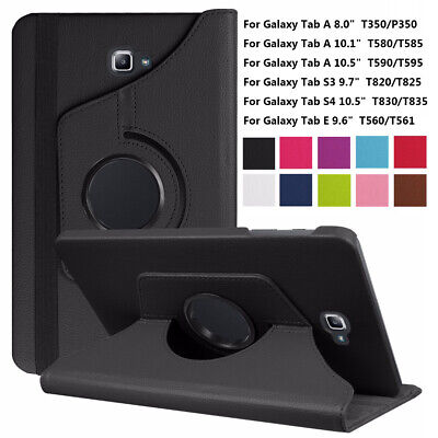 Smart Case Protective Cover For Samsung Galaxy Tab A E S4 10.5 10.1 9.6 8.0