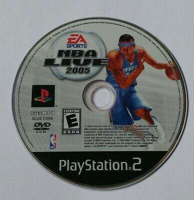 Sony Playstation 2 Video Game EA Sports NBA Live 2005 (Loose)
