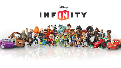 Disney infinity Characters 1.0 + 2.0 + 3.0, power crystals and extras for sale
