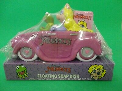 1988 MUPPETS  Miss PIGGY & KERMIT the FROG VINTAGE & COLLECTIBLE Jim Henson's