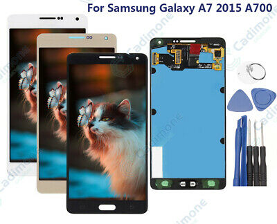 For Samsung Galaxy A7 2015 A700 A700F LCD Display+Touch Screen Digitizer RE0
