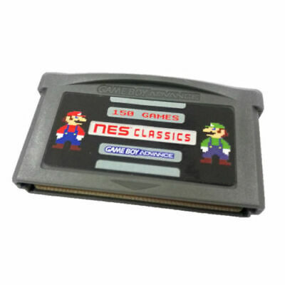 150 in 1 GBA NES Retro Games Multicart SAVE STATES for GBA/GBM/GBASP/NDS/NDSL