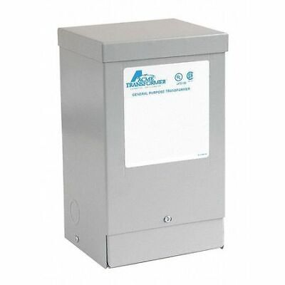 ACME ELECTRIC T253060 Transformer 1PH 1.0KVA 240-120/240