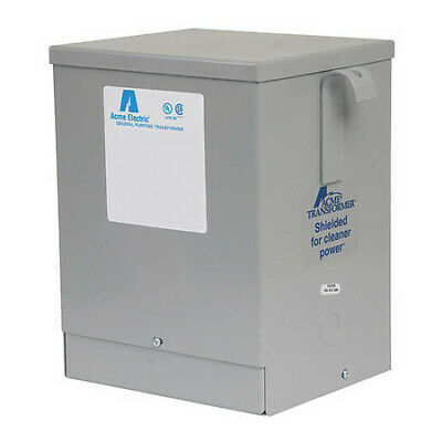 ACME ELECTRIC GP123000S Transformer 1PH 3.0KVA 277/480-208/277