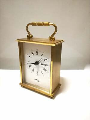 vintage Small Mantle Alarm clock / carriage clock / Avia Clock