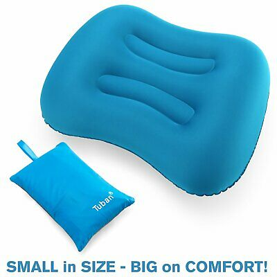 Ultralight TPU Neck Concave Air Pillow Inflatable Outdoor Camping Sleeping US