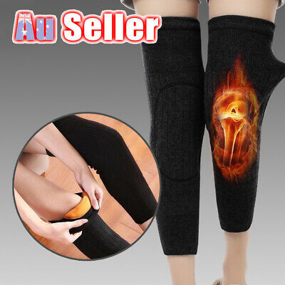 Knee Warmer Leg Sleeve Wool Kneecap Sleeves M2 Thermal Winter Warm