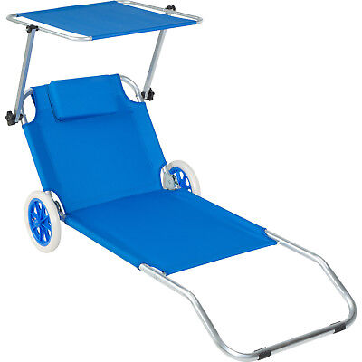 CHAISE LONGUE TRANSAT Plage Jardin Pliante Inclinable Repos ...