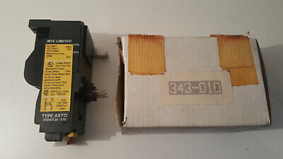 Mte 01000130 010 Axto Over Load Relay 8,0 - 12,0A  Rs 343-010