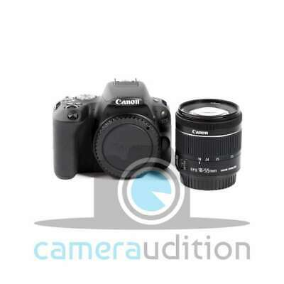 Genuino Canon EOS 200D Camera with 18-55mm STM Lens (Black)