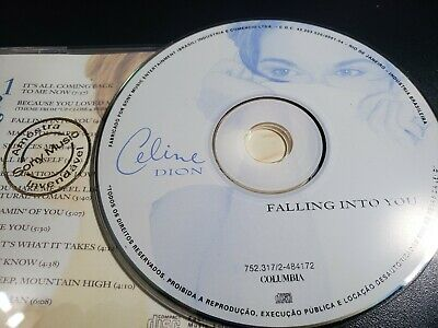 Celine Dion Falling Into You BRAZIL PROMO DJ CD RARE- unison flying on my own