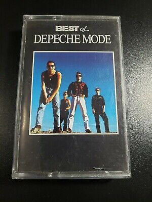 Depeche Mode Best Of Promo Cassette French- 101 violator personal jesus exciter