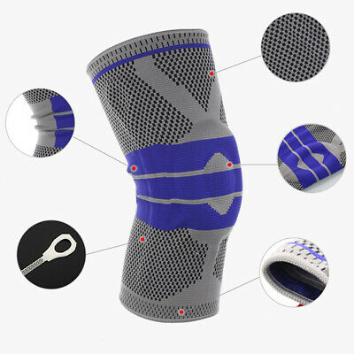 1 Pcs Fitness Running Knee Support Protect Gym Sport Braces Kneepad Elastic