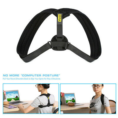 Posture Corrector Brace Upper Back Neck Shoulder Support Adjustable Straps