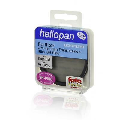 Heliopan Polfilter 8098, Ø 40,5 x 0,5 mm High Transmission circular SH-PMC Slim