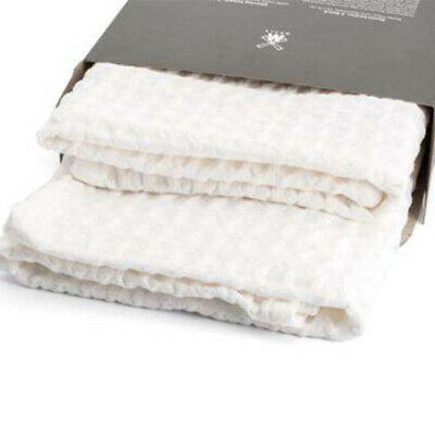 Facial Shaving Towels 2 x Pack by Muhle 100% Soft Luxury Pure Cotton FREE UK P&P