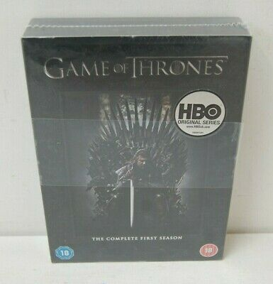 Game of Thrones The Complete First Season HBO Original Series - Sealed