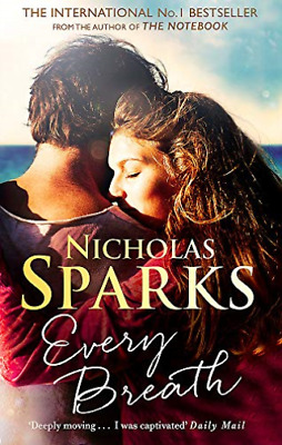 Nicholas Sparks-Every Breath (UK IMPORT) BOOK NEW