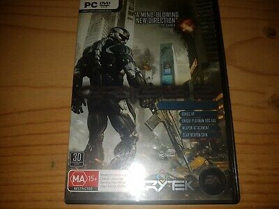 CRYSIS 2 LIMITED EDITION PC DVD Rom Game VGC