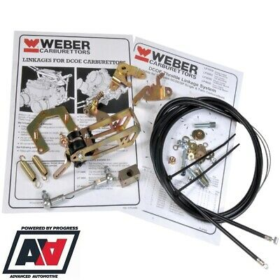Weber DCOE  twin cable linkage kit for single//twin carb               P//N LINKW1