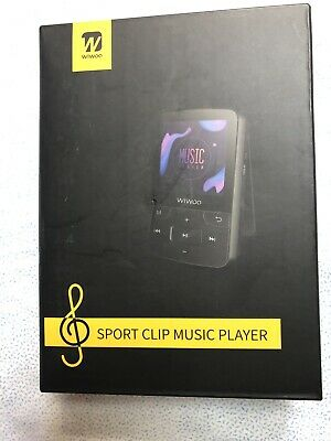Wiwoo 16gb Lettore MP3 1.8 pollici portatile Lossless Sound MP4 Music Player ...
