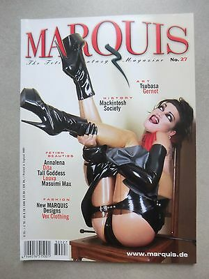 The Fetish Fantasy Magazine MARQUIS No. 27 - 2002  Dita von Teese