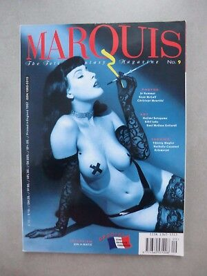 The Fetish Fantasy Magazine MARQUIS No. 9 – 1997  Dita von Teese