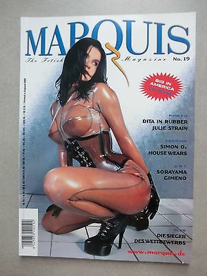 The Fetish Fantasy Magazine MARQUIS No. 19 - 2000  Dita von Teese