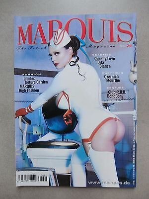 The Fetish Fantasy Magazine MARQUIS No. 28 - 2003  Dita von Teese