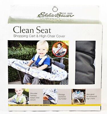 Eddie Bauer Cover Clean Seat Shopping Cart and High Chair Cover NEW