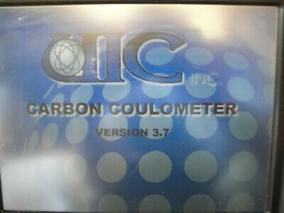 UIC CO2 Coulometer with glassware, powers on unable to test