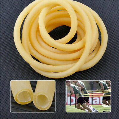 3M 6mm X 9mm Natural Latex Tube Elastic Rubber Bands Slingshot Catapult