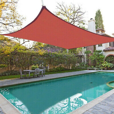 18'x18' Patio Square Sun Shade Sail UV Proof Outdoor Pool Deck Yard Canopy