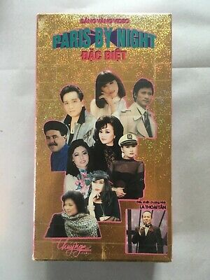 Thuy Nga Paris By Night Dac Biet- Vietnamese Music VHS Video Tape