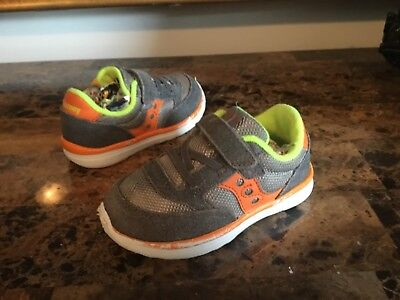 Boy's Saucony Toddler Jazz  Athletic Shoes Size 6.5N Multi-Color Leather