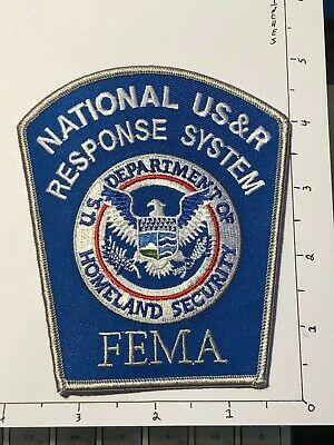 National US&R Response System FEMA Patch