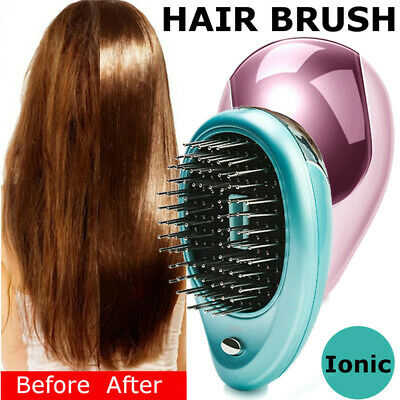 Electric Vibration Wireless Anti Hair Loss Magnetic Massage Comb Portable Ion