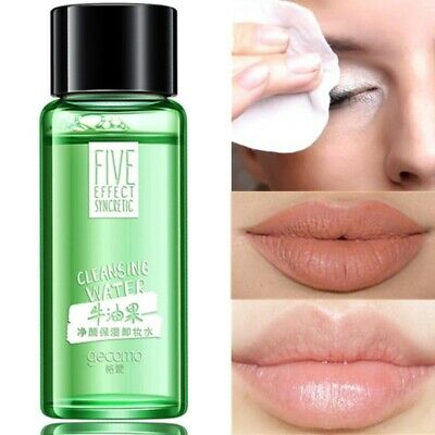 20ml Cleansing Water Cleansing Face Eye Lip Makeup Remover Travel Sample